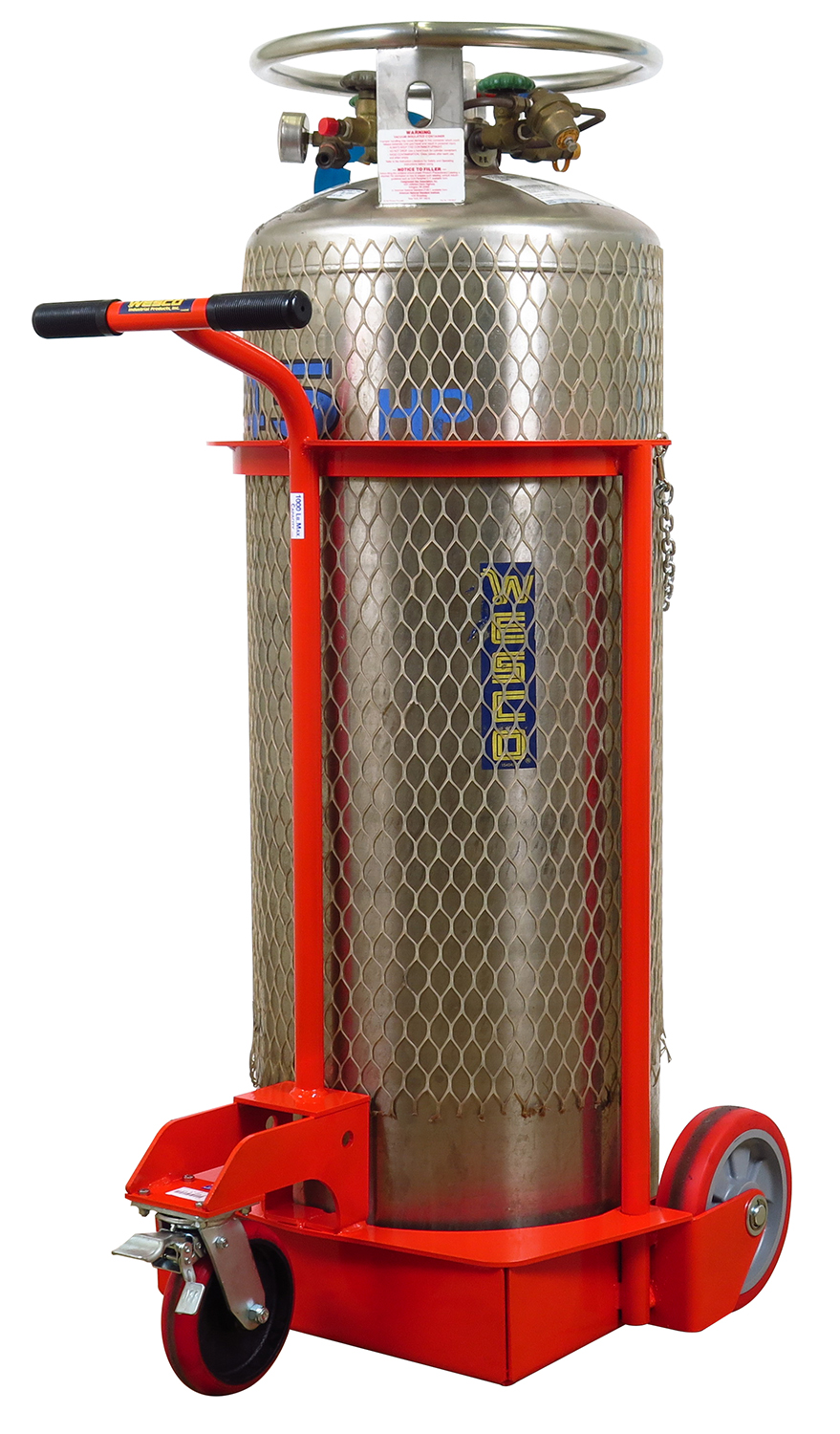 Part No 210131 Large Manual Liquid Gas Cylinder Cart On