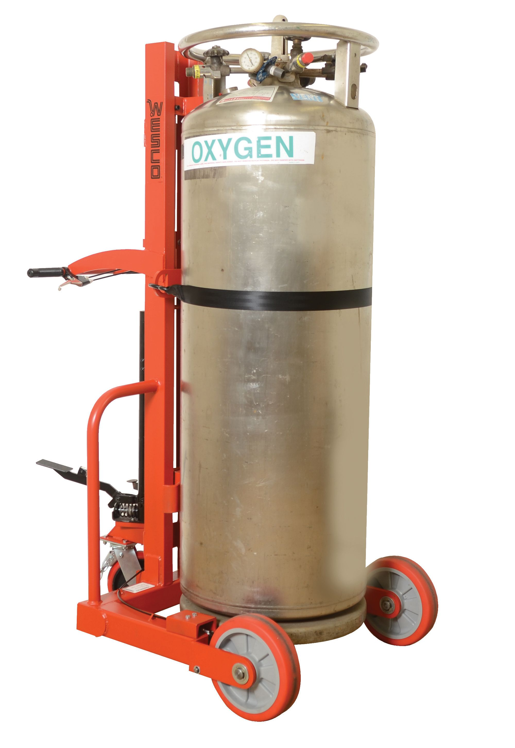 Cylinder Lift Equipment : Part no hydraulic large liquid gas cylinder cart