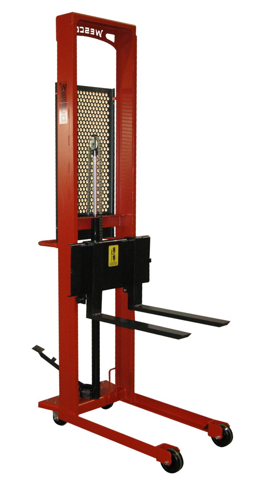 Part No 260037 Wesco 174 Fork Stacker Model On Wesco