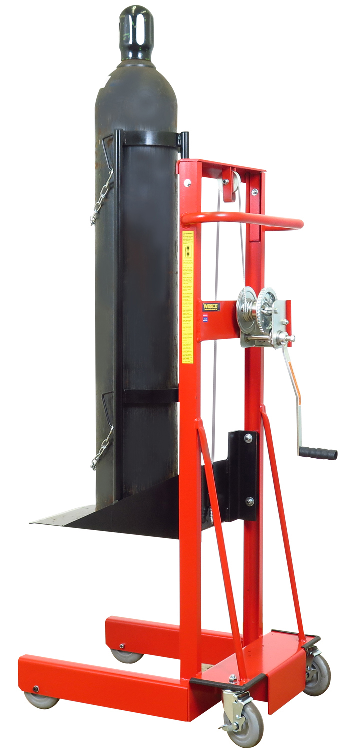 Cylinder Lifting Equipment : Cylinder lifts carts and trucks on wesco industrial