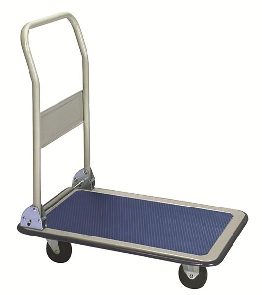 a7b6caa6562 Folding-Handle Platform Trucks  Steel