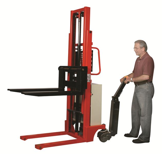 Box Lift Assist : Part no capacity power drive stacker on wesco