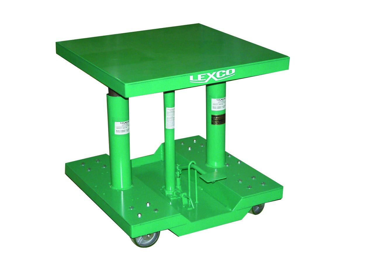 Lexco 174 Foot Operated Amp Electric Hydraulic Lift Table On
