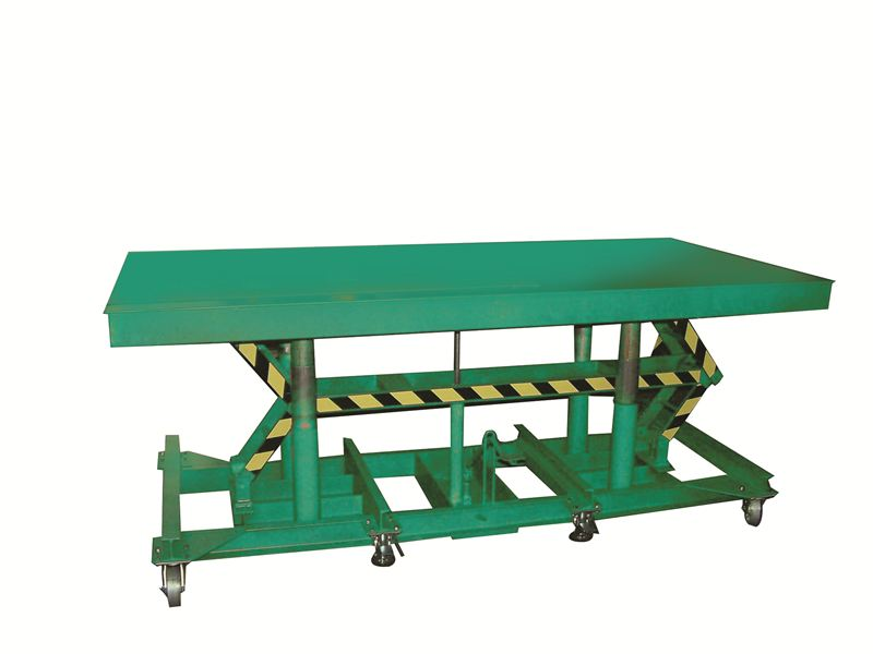 Awesome 3,000 U0026 5,000 Lb Capacity Long Deck Hydraulic Foot Operated Lift Table