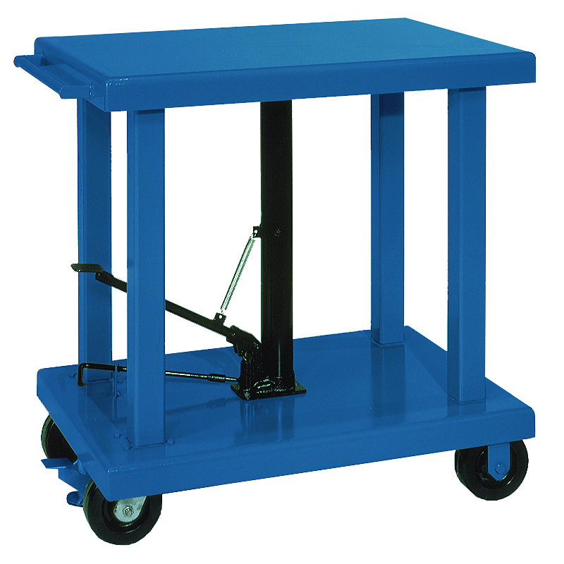 Wesco 174 Lift Tables Capacities From 200 To 6000 Lb Manual