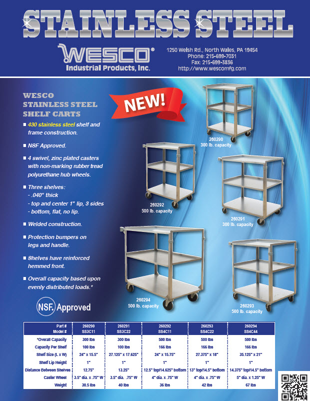 Wesco Stainless Steel Catalog PDF