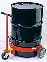 Spill-Less Open Drum Truck - Use