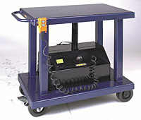 "Powered Lift Table 24"" x 36"", 2000 (lb.) Capacity, 59"" Lift Height (261102)"