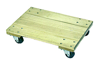 Wood Dolly Solid Platform