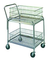 Wire Office Cart