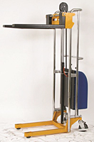 Electric Value Lift Stacker - Use