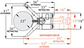 Ergonomic Drum Handler Power Lift (240156 & 240157) - Schematic Diagram