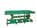 3,000 & 5,000 lb Capacity Long-Deck Hydraulic Foot-Operated Lift Table