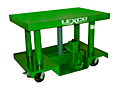 3,000 - 6,000 lb Foot Operated or Powered Portable Hydraulic Lift Table496062